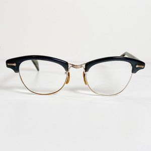 Vintage Shuron Browline 5 1/4 Eye Glasses